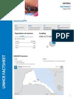 - ERITREA Operation Fact Sheet - HQs- August 2014