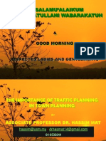 1. The Importance of Traffic Planning