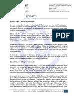 963 TOEFL Essays