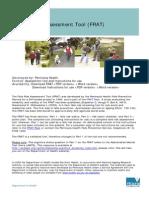 Falls Risk Asssessmnet (FRAT)