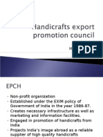 Handicrafts Export Promotion Council Additional Extra