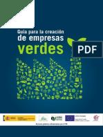 Guía Creación Empresas Verdes