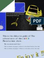 Las aventuras de Alex&RGB (Educación Primaria - School of stars - Pamplonetario)