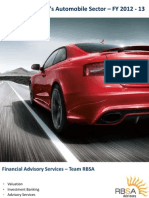 RBSA Automotive Sector Analysis1