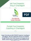 Punsup Exam - 2014 Syllabus, Coaching, Study Material