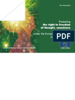 Libertad Religiosa - Handbook Council of Europe