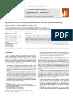 [AMOROSI] Parametric Study on Seismic Ground Response by Finite Element Modelling