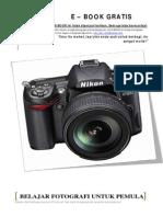 Belajar Fotografi Untuk Pemula