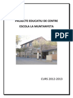 Projecte Educatiu de l'Escola La Muntanyeta