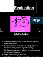 1- Job Evaluation