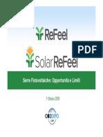 Serra Fotovoltaica Guida