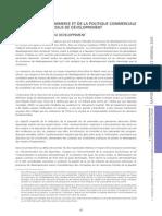 Rapport Sur Le Commerce International