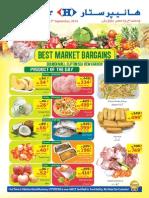 Market Flyer 8 Till 12 September 2014