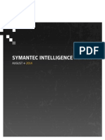 Symantec Intelligence Report - August 2014