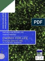 Energía para la vida (Educación Secundaria - Escuela de estrellas - Pamplonetario)