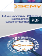 Malaysia Open Source Conference 2014  (MOSCMY2014) Roll Up