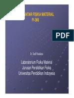 Pendahuluan P.fisika Material [Compatibility Mode]