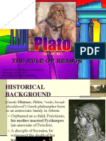 Plato the Rule of REASON