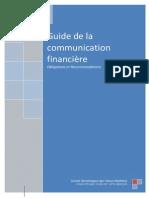 Guide CDVM Pour La Communication Financière 2012