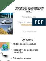 Perpectivas de La Energia Renovable 2008