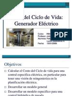 Presentacion Costo Del Ciclo de Vida de Un Generador Electrico