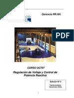 Regulación de Voltaje y Potencia Reactiva