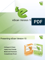 eScan Product Presentation