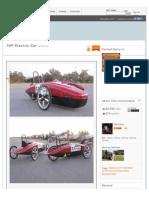 1 HP Electric Car