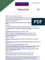Traducciones 22 (1998)