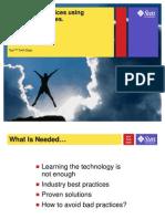 J2EE Best Practices