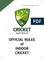 Indoor Cricket Rule Book