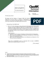 NK Tech Info on FFA Servicing