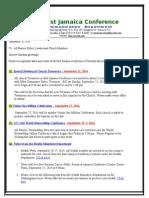Communication -Advisory #193 for September 20 -2014