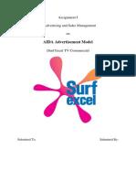 AIDA Deconstruction of Surf Excel Ad