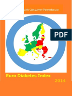 Indexul European de Diabet 2014