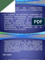 3. Relacion Cliente-consultor