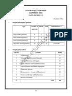 Class 12 Cbse Economics Sample Paper 2012-13