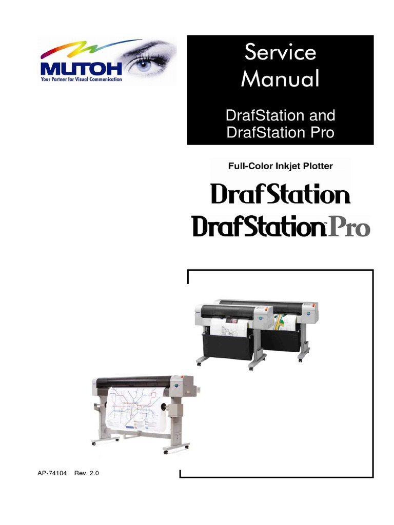Mutoh Drafstation & Drafstation Pro Service Manual | Electromagnetic  Interference | Computer Monitor