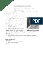 Rs6 Pleural Tuberculosis