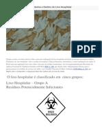 Conheça a Classificação Lixo Hospitalar
