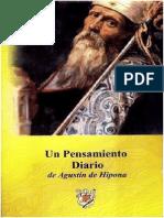 Un pensamiento diario de Agust°n de Hipona