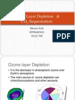 Bhanu Seth M789- Ozone Layer Depletion