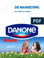 Plan de Marketing DANONE Romania
