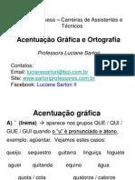 CAT - Aula 01 - Português - Carlos Ramos - Acentuacao e Orto