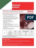 BP Measurement - BHS