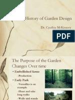 Garden Design History