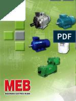 Catalogo General Motores Trifasicos MEB