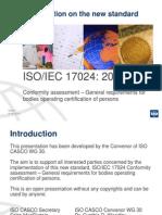 Iso 17024 2012 Powerpoint