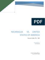 Nicaragua v United States of America