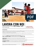 LAVORA CON NOI - Medici Infermieri e Logisti per la Sierra Leone (2014)